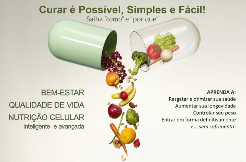 curso Bem-Estar Qualidade de Vida e Nutrição Celular